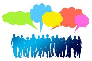social media chat