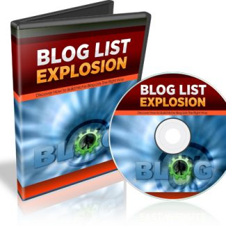 Blog List Explosion – Video course, Powerpoint + Transcripts