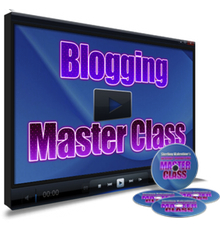 Blogging Masterclass – Video presentation