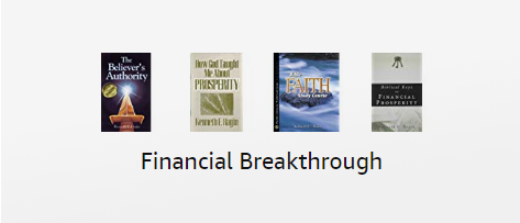 Financial breakthrough books