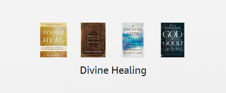 Divine Healing Amazon Kindle books